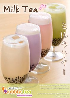Boba milk tea <3!!!
