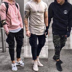 Leave a comment 👇 moda masculina en 2019 fashion, teenage boy fashion y st Trendy Mens Fashion, Stylish Mens Outfits, Casual Outfits, Men Casual, Fashion Outfits, Outfits 2016, Fashion 2016, Fashion Men, Urban Style Outfits