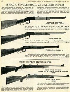 1970 Print Ad of Ithaca Model 49 Saddlegun, Standard & Deluxe Rifle Print Ads, Vintage Advertisements, Model, Ebay, Print Advertising, Scale Model, Vintage Ads, Models