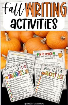 These 12 fall writing activities are a perfect way to engage your student's to foster a love for writing. They will practice essay writing, listing, opinion writing, using linking words, and using descriptive language. This is a great fall writing activity for 3rd grade, fall writing activity for 4th grade, fall writing activity for 5th grade. This is a great elementary school activity for the holiday or a fall writing activity for elementary school students. This is a printable writing…