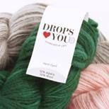 kamelias hobbyblogg: Joruns garn og hobby: Drops loves you #3.
