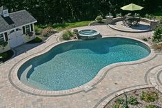 View our Mountain Pond Inground Pool Gallery. Juliano& Pools can help you with your pool project, we serve Western Massachusetts, Connecticut, and Rhode Island Pool Pavers, Backyard Pool Landscaping, Concrete Pool, Backyard Pool Designs, Swimming Pools Backyard, Swimming Pool Designs, Landscaping Ideas, Backyard Ideas, Inground Pool Designs