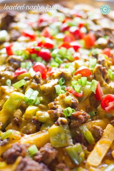 Loaded Nacho Fries -minus the meat