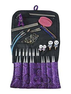 Vogue Knitting, Knitting Books, Interchangeable Knitting Needles, Knitting Supplies, Yarn Ball, Brocade Fabric, Red Lace, Stitch Markers, Stitch Patterns