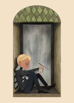 It's exceptionally lonely, being Draco Malfoy. By LIZ