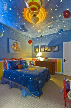 Solar Ceiling for Child's Room