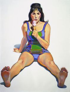 Wayne Thiebaud...I love his use of color and composition!