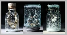 Make+Your+Own+Glass+Ornaments | Design » How to make your own Snow Globe!