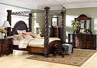 Home Furniture Houston Entrancing Montana's Home Furniture  Houston Tx North Shore King Poster Bed . Decorating Inspiration
