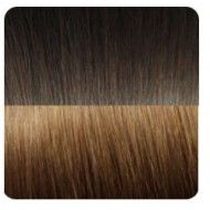Dark Choc #2  / Chestnut Brown #6 - 9 piece set - 20 inch (220gr) or  24 inch (230gr) - Double drawn + Triple wefted