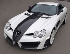 Two-Tone Mercedes McLaren SLR Renovatio