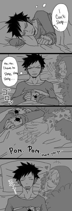Luffy x Law LOVE (ferra-rii: Ghost Corazon by童子 Translation by...)