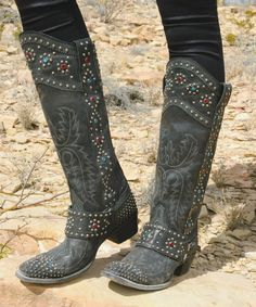 Double D Ranch  by Lane Boots Rough Rider Cowboy Boots from Cowgirl Kim