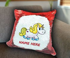 Blondie Unicorn Personalized Sequin Cushion cover with your name unicorn sequin pillow personalised sequin cushion cover magic sequin cover by funkytshirtsfactory on Etsy Sequin Pillow, Unicorn Cushion, Cushion Covers, Soft Fabrics, Cushions, Sequins, Magic, Throw Pillows