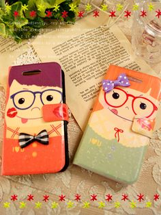 Cute homemade mobile phone cases