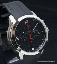 Chubster's choice Men's Watches - Watches for Men ! - Coup de cœur du Chubster Montre pour homme ! Montre Chronographe Tissot PRC 200 Automatique