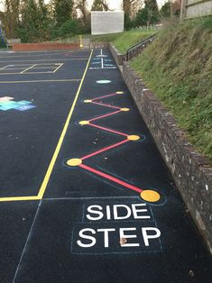 Incredibly vibrant & suited for various play areas, you won't be disappointed with our Playground Markings For Schools. These Thermoplastic Markings are fade proof & can last 10 times longer than painted markings. Playground Painting, Playground Games, Playground Design, Outdoor Playground, Clean Classroom, Outdoor Classroom, Classroom Hacks, Gross Motor Activities, Preschool Activities