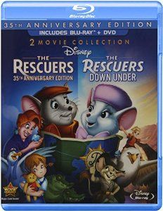 Amazon.com: The Rescuers: 35th Anniversary Edition (The Rescuers / The Rescuers Down Under) (Three-Disc Blu-ray/DVD Combo in Blu-ray Packaging): Bob Newhart, Eva Gabor, Geraldine Page, Joe Flynn, Jeanette Nolan, Pat Buttram, Jim Jordan, John McIntire, Michelle Stacy, Bernard Fox, Larry Clemmons, James MacDonald, Bill McMillian, Dub Taylor, John Fiedler, Wolfgang Reitherman, Ken Anderson, Ted Berman, Vance Gerry, Fred Lucky, Burny Mattinson, David Michener: Movies & TV