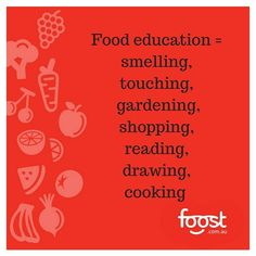 Food education begins away from the table. Enjoy food with your kids both at and away from the table. #foodeducation #whatifvegetableswerepeople #senses