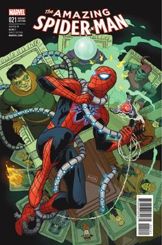 Preview: The Amazing Spider-Man #21, Story: Dan Slott & Christos Gage Art: Giuseppe Camuncoli Cover: Alex Ross Publisher: Marvel Publication Date: November 16th, 2016 Price: $3.9...,  #AlexRoss #All-Comic #All-ComicPreviews #ChristosGage #Comics #DanSlott #GiuseppeCamuncoli #Marvel #previews #TheAmazingSpider-Man