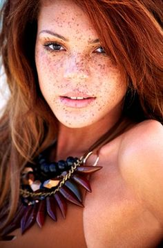 I love freckles!! Jade - Britain & Irelands' Next Top Model Winner