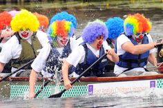 Fundraising Event Ideas - Let the good times row... Article with a whole bunch of fun fundraiser ideas.