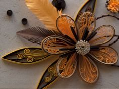 neli: Quilling - etudes with flowers