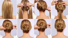 Resultado de imagen para peinados paso a paso