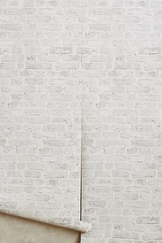 Brick-By-Brick Wallpaper #anthropologie
