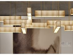 帝美斯非标定制灯饰微信号,fly2327 www.qiwei888.com QQ: 2851712688 电话076087666871 Strip Lighting, Modern Lighting, Lighting Design, Ceiling Decor, Ceiling Lamp, Hanging Lights, Wall Lights, Light Installation, Light Decorations
