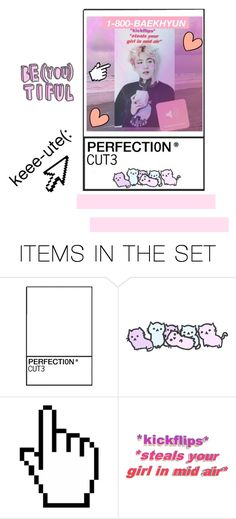 """""""I'll pick you up when your down"""" by exo-kay on Polyvore featuring art"""