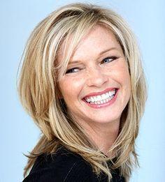 blonde hair on older women - Google Search