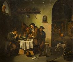 Artist Unknown, (18th Century), Tavern Scene