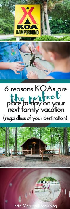 we love visiting KOAs!  They make the BEST spot for family vacations, and with destinations all over the United States, and even Canada, we never have a hard time finding one.