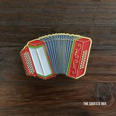 """These locally designed, soft enamel pins are perfect for lapels, jackets, bags, hats, and pretty much anything else you want to pin these fun little pieces to. Pins are 1.5"""" and feature shiny gold pla"""