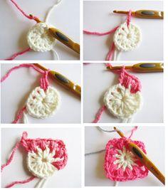 Manta o Afgano Primavera en Crochet con paso a paso grátis ⋆ Manualidades Y DIYManualidades Y DIY Crochet Necklace, Diy, Color Coordination, Free Pattern, Loom, Opportunity, Crochet Collar, Bricolage, Handyman Projects