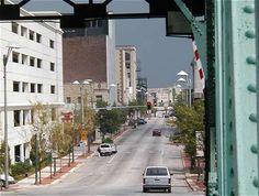 View from bridge in Joliet