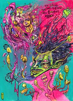 Tarot, Surreal Art, Trippy, Dark Art, Surrealism, Pastel, Fine Art, Drawings, Artwork