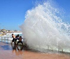 beautiful beaches: Oeiras, Portugal