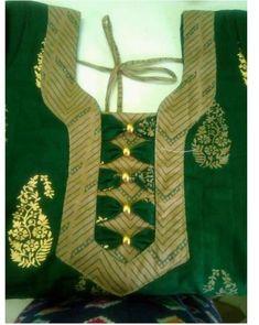 Chudithar Neck Designs, Chudidhar Designs, Salwar Neck Designs, Saree Blouse Neck Designs, Neck Designs For Suits, Kurta Neck Design, Neckline Designs, Dress Neck Designs, Fancy Blouse Designs