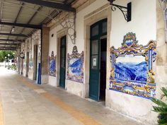 Pinhao. The train station