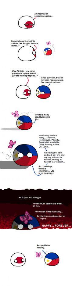 Japan asks for some counselling. : polandball Japan asks for some counselling. Filipino Funny, Filipino Memes, Filipino Art, Funny Art, Funny Memes, Hilarious, Some Jokes, History Memes, Nasa History