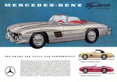 Vintage Automotive Sales Literature and Brochure Photos Daimler Ag, Daimler Benz, Up Auto, Automotive Sales, Renz, Mercedes Benz 300, Hot Cars, Motor Car, Vintage Cars