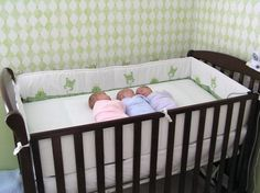 For the first 1-2 months, 1 crib will often be enough