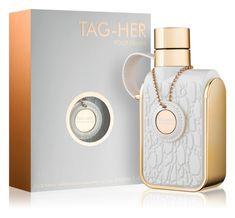 Armaf Tag Her eau de parfum pentru femei 100 ml Perfume Bottles, Tags, Floral, Modern, Beauty, Trendy Tree, Flowers, Perfume Bottle, Beauty Illustration