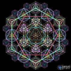 Hyper Geometry by Samuel Farrand Using the 5 Platonic Solids, the Vector Equillibrium and Sacred Geometry as a foundation, I created several multi-layered geometrical systems to explore a much more...