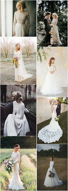 Wedding Dresses»26 Stylish Long Sleeve Wedding Dresses to Rock!