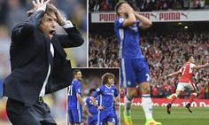 Chelsea and Antonio Conte left reeling after Emirates horror show after Arsenal ran riot... So, just what is going wrong with their calamity defence?