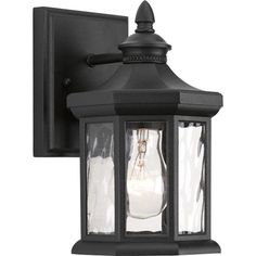 P6070-31 Edition Black One-Light 5.5-Inch Outdoor Wall Lantern