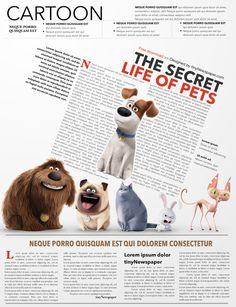 Newspaper Outline Newspaper Design Layout Newspaper Layout Editorial Design Magazine